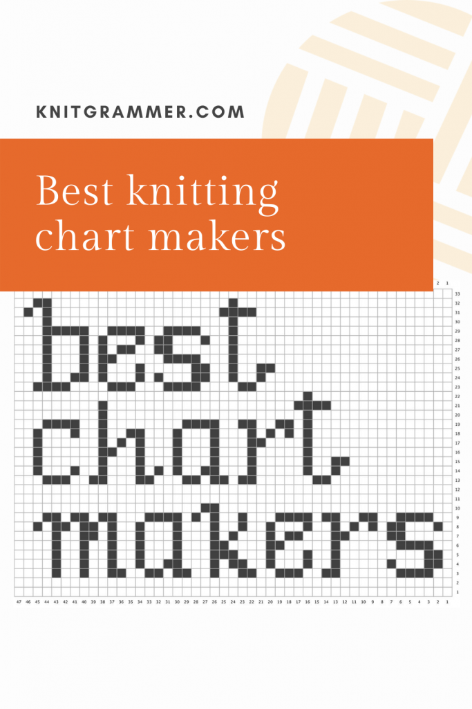 Best knitting chart makers
