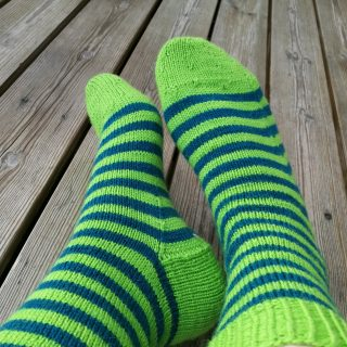 Arwetta sock pattern