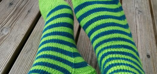 Arwetta sock pattern