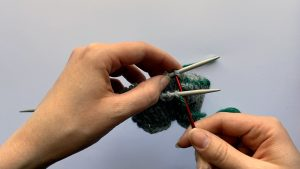 An easy way to remember the Kitchener stitch